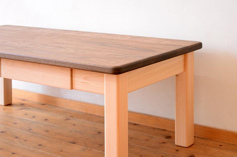 ひのき くるみ コーヒーテーブル3