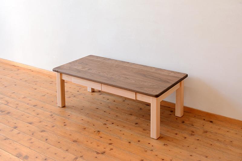 ひのき くるみ コーヒーテーブル4