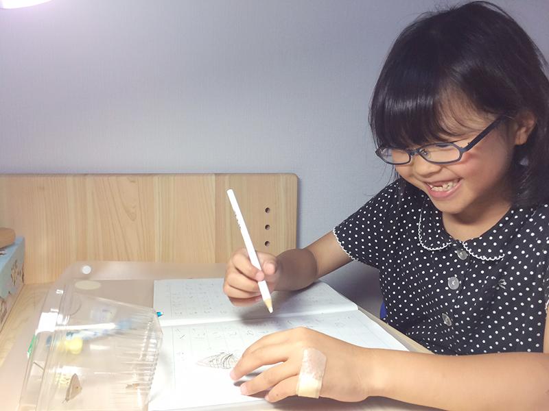 ひのき学習机2