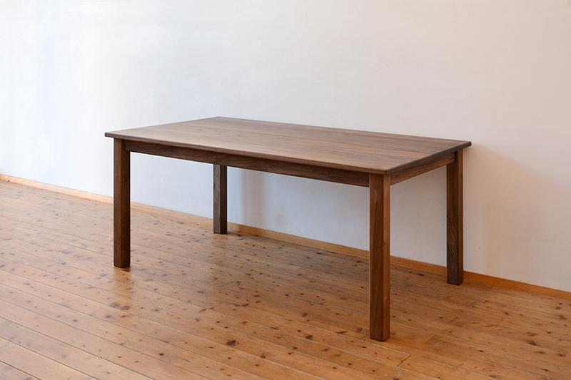 くるみとさくら Pテーブル ダイニングテーブル1