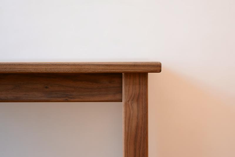 くるみとさくら Pテーブル ダイニングテーブル3