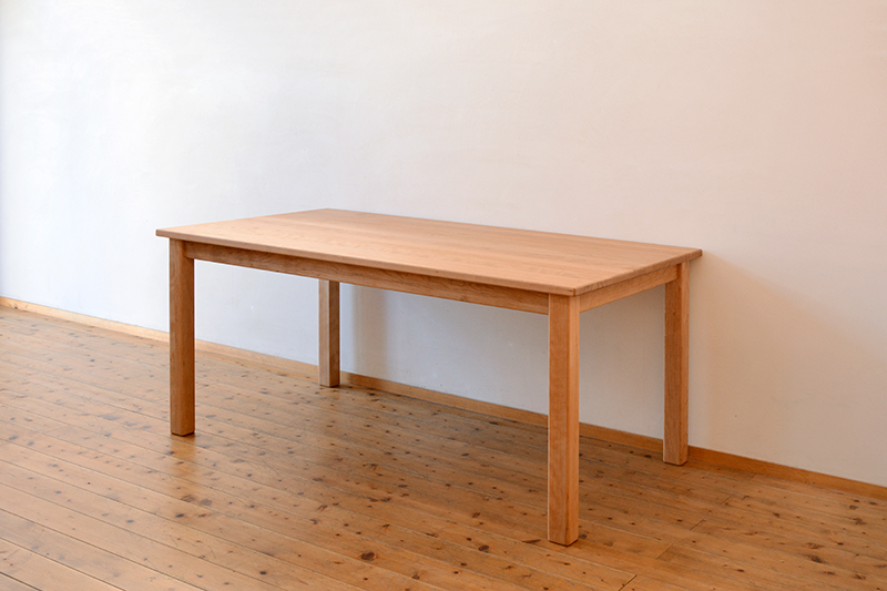 くるみとさくら Pテーブル ダイニングテーブル8