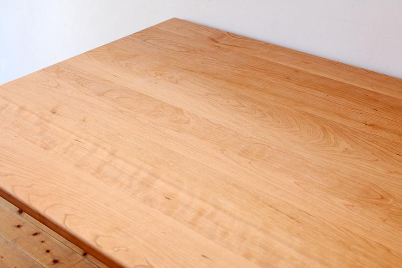 くるみとさくら Pテーブル ダイニングテーブル9