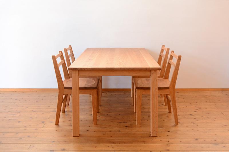 くるみとさくら Pテーブル ダイニングテーブル13