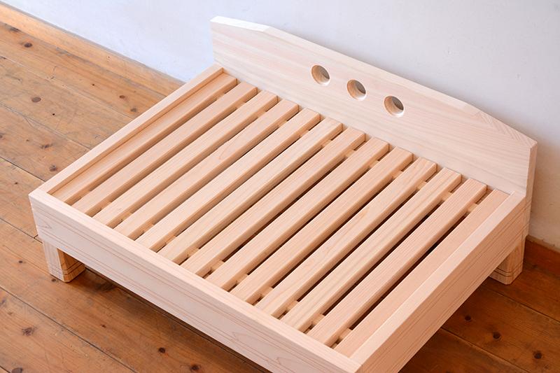 ひのき無垢 ねこベッド3