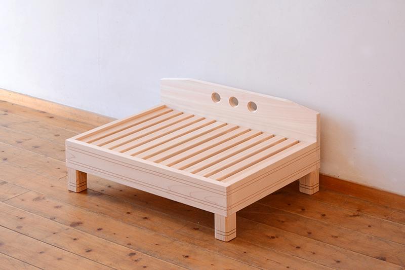 ひのき無垢 ねこベッド5