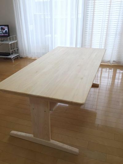 ひのき無垢 Bテーブル
