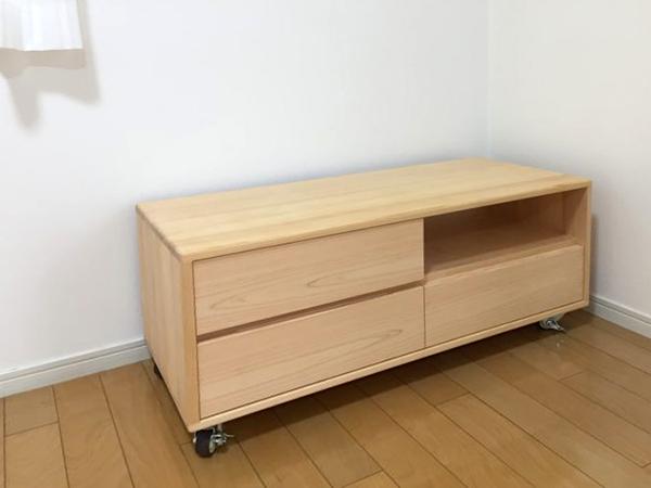 ひのき無垢 テレビボード1