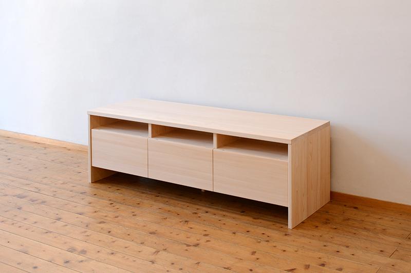 ひのき無垢 テレビボード4