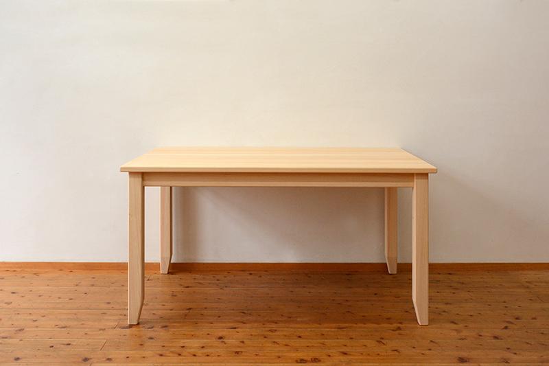ひのき無垢 テーブル1