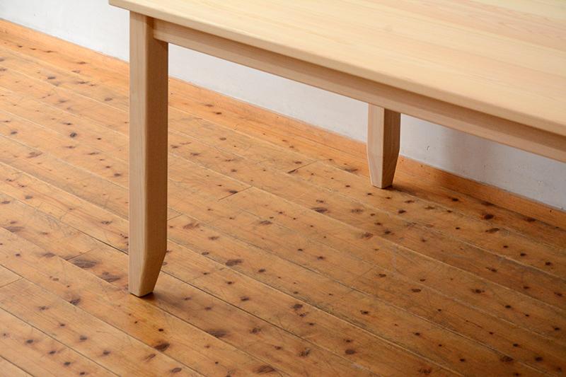 ひのき無垢 テーブル5