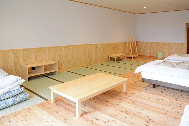 ひのき無垢 ふもとっぱら キャンプ 無垢家具14