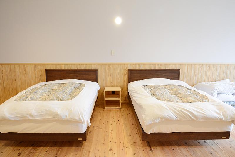 ひのき無垢 ふもとっぱら キャンプ 無垢家具15