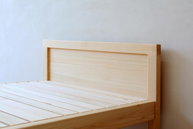 ひのき無垢 シングルベッド3