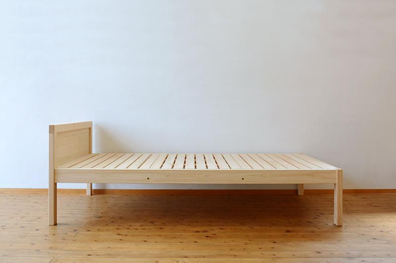 ひのき無垢 シングルベッド5