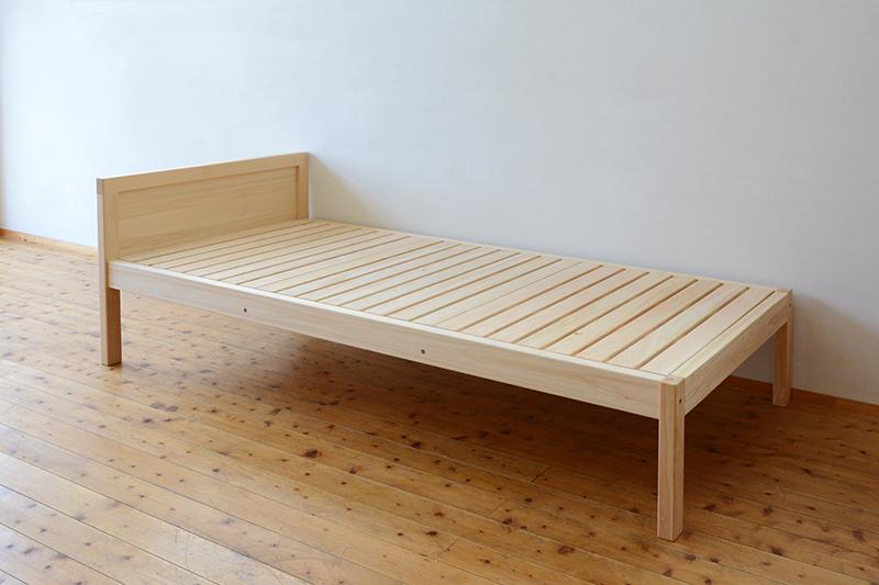 ひのき無垢 シングルベッド6