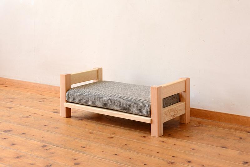 ひのき無垢 ねこベッド1