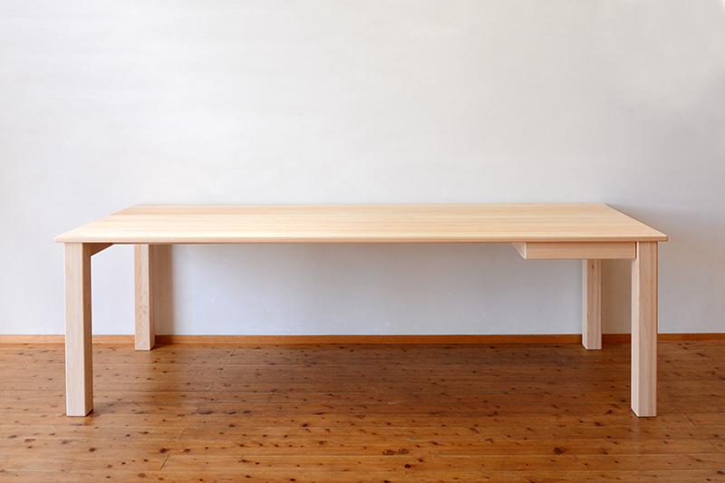 ひのき無垢 ビックテーブル1