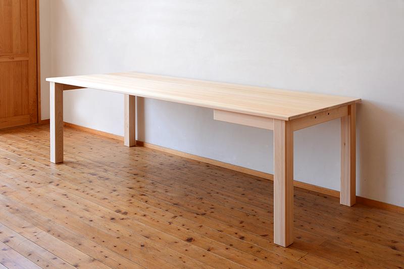 ひのき無垢 ビックテーブル5