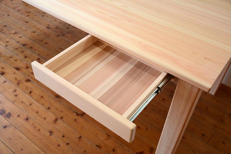 ひのき無垢 ビックテーブル4