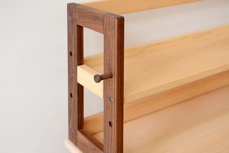 くるみとさくら 木製フック6