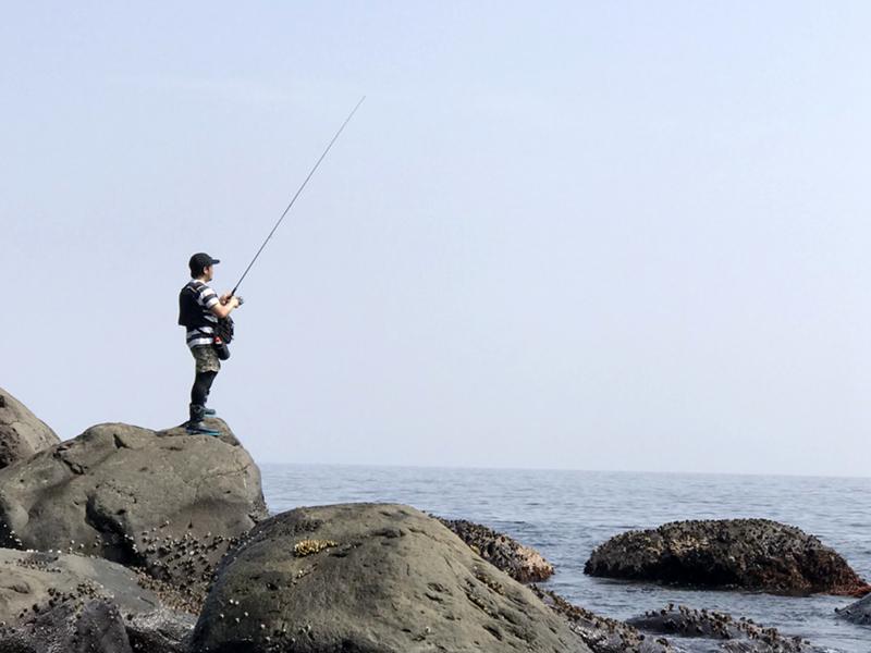 ひのき無垢 ロッドスタンド 釣り フィッシング ロッドホルダー2