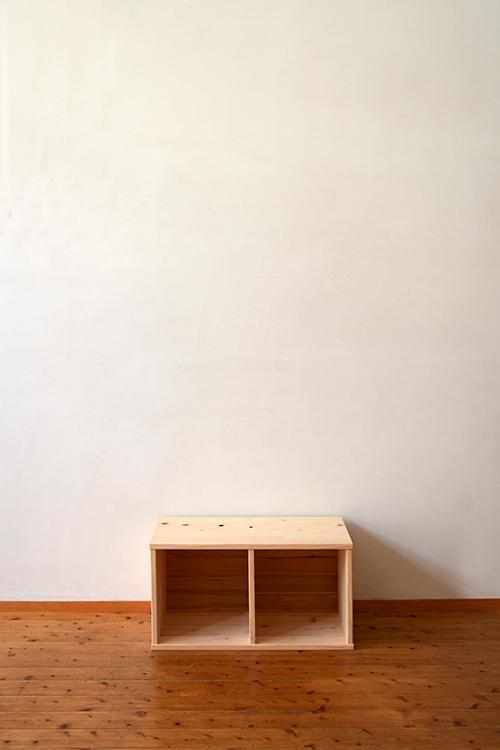 檜無垢 ヒノキクラフト カラーボックス1