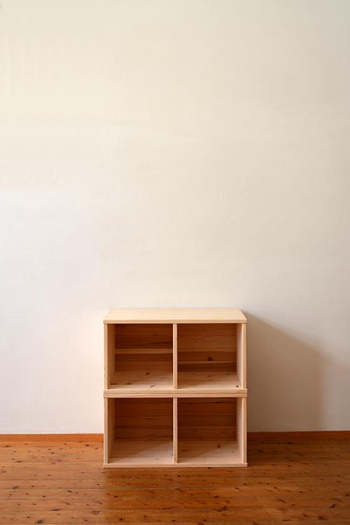 檜無垢 ヒノキクラフト カラーボックス2