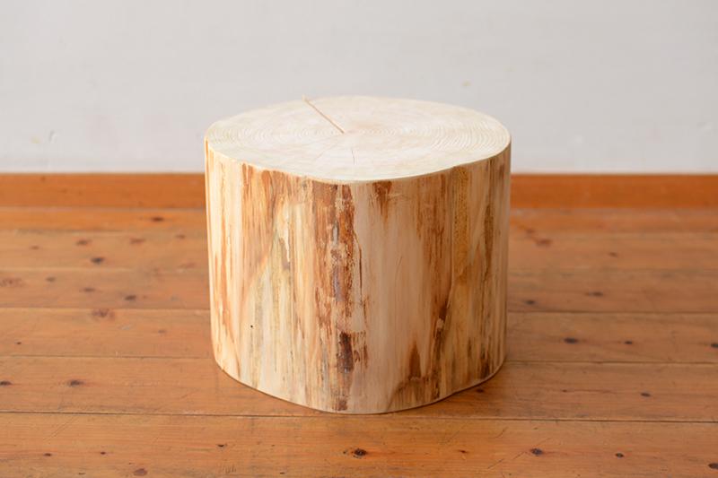 ひのき無垢 耳付きテーブル ヒノキクラフト7