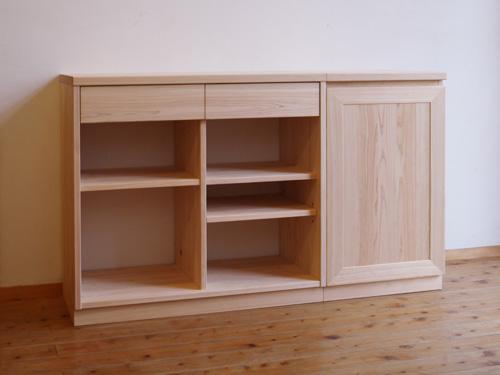 ヒノキクラフト オーダー家具 設計図3