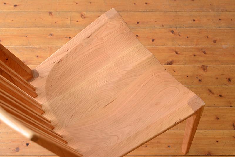 ヒノキクラフト 匠チェア 起立木工 7