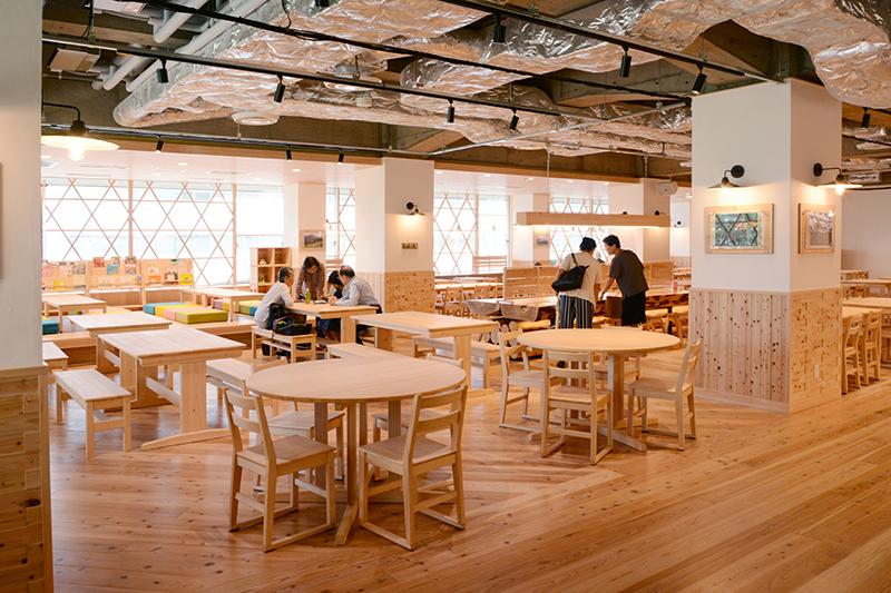 静岡市役所食堂 リノベーション ヒノキクラフト5