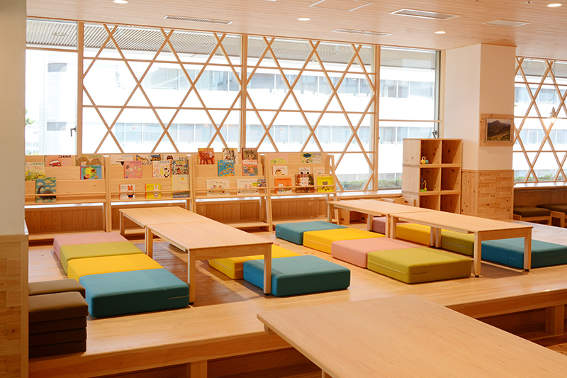 静岡市役所食堂 リノベーション ヒノキクラフト6