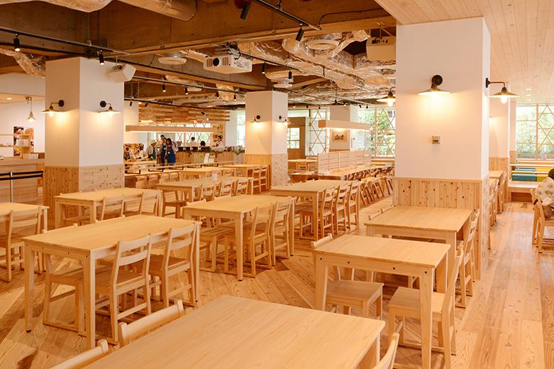 静岡市役所食堂 リノベーション ヒノキクラフト9