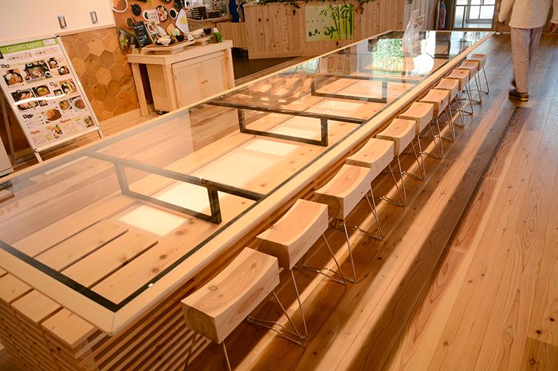 静岡市役所食堂 リノベーション ヒノキクラフト7