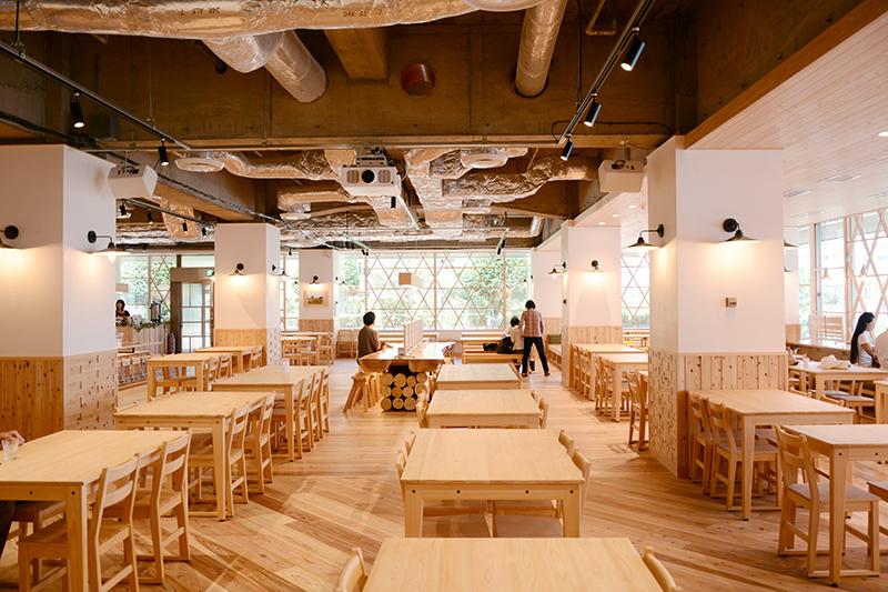 静岡市役所食堂 リノベーション ヒノキクラフト10