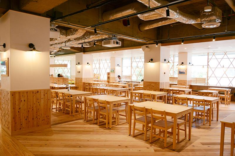 静岡市役所食堂 リノベーション ヒノキクラフト8