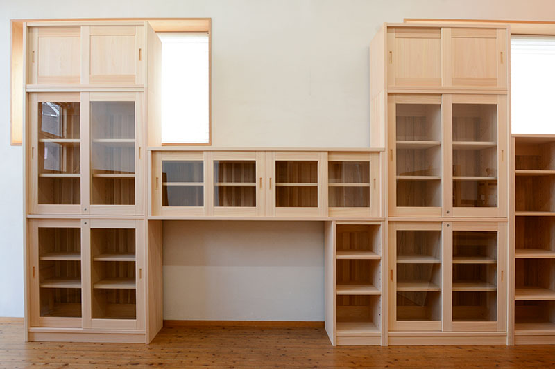 ヒノキクラフト オフィス家具 納品事例6