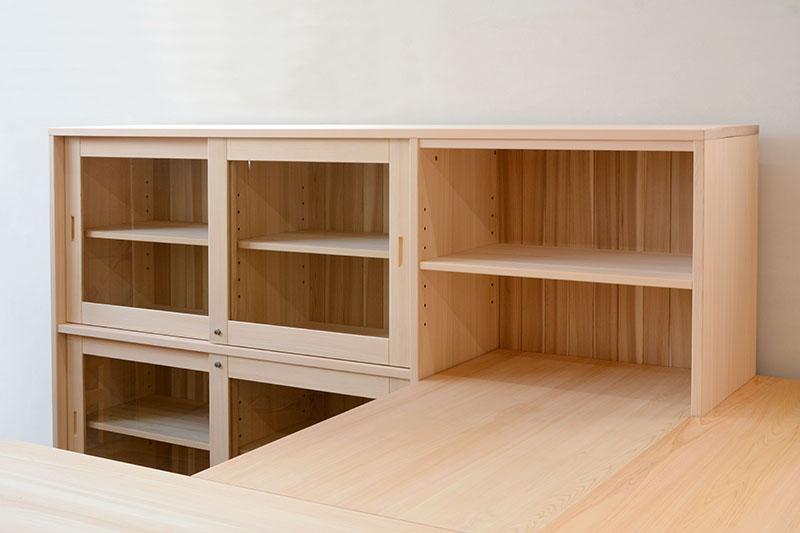 ヒノキクラフト オフィス家具 納品事例2