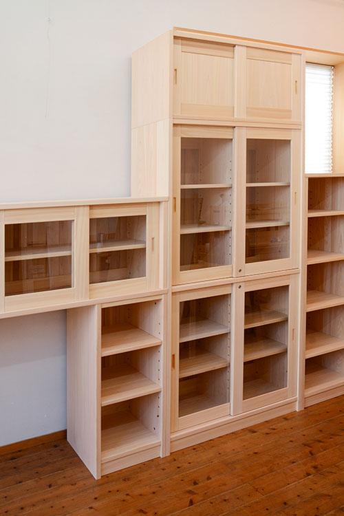ヒノキクラフト オフィス家具 納品事例8