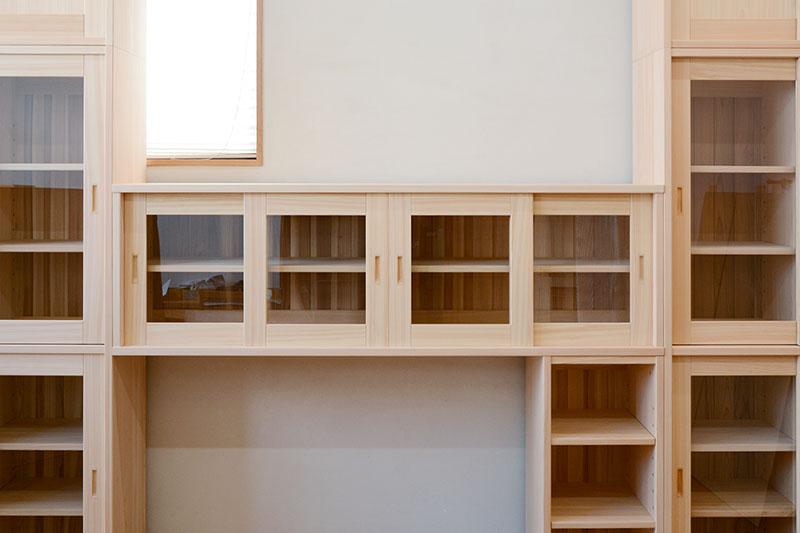 ヒノキクラフト オフィス家具 納品事例9
