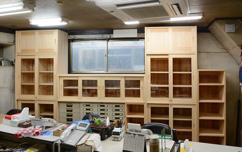 ヒノキクラフト オフィス家具 納品事例10