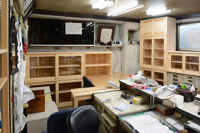 ヒノキクラフト オフィス家具 納品事例12