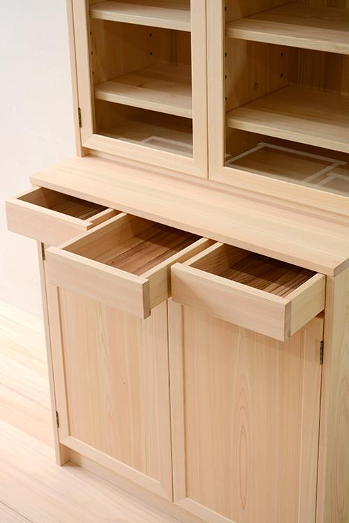 ヒノキクラフト LDボード 食器棚4
