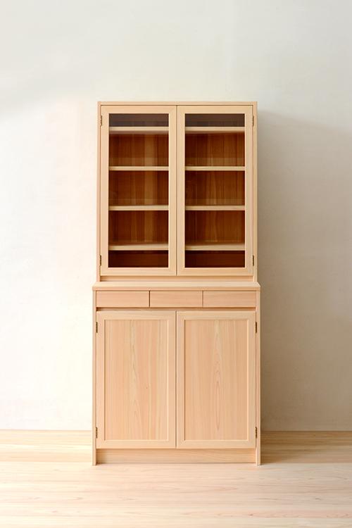 ヒノキクラフト LDボード 食器棚1