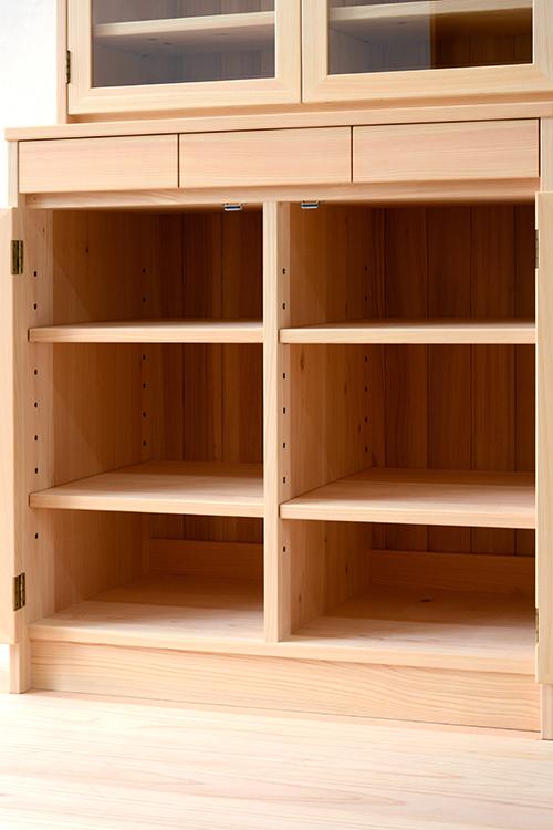 ヒノキクラフト LDボード 食器棚7