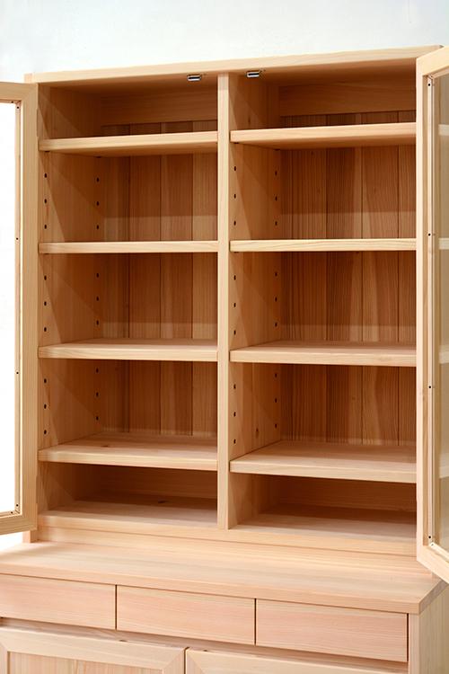 ヒノキクラフト LDボード 食器棚2