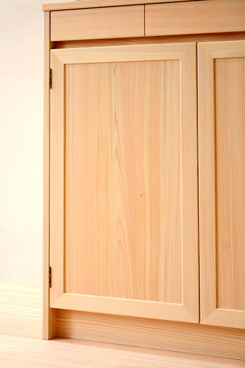 ヒノキクラフト LDボード 食器棚5