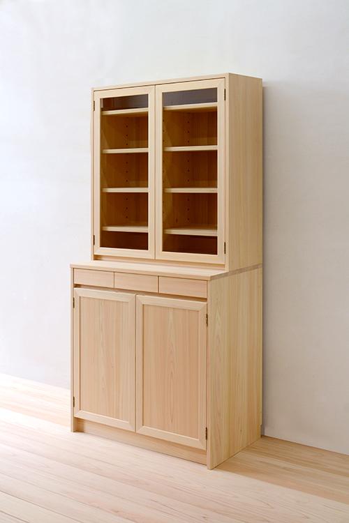 ヒノキクラフト LDボード 食器棚9