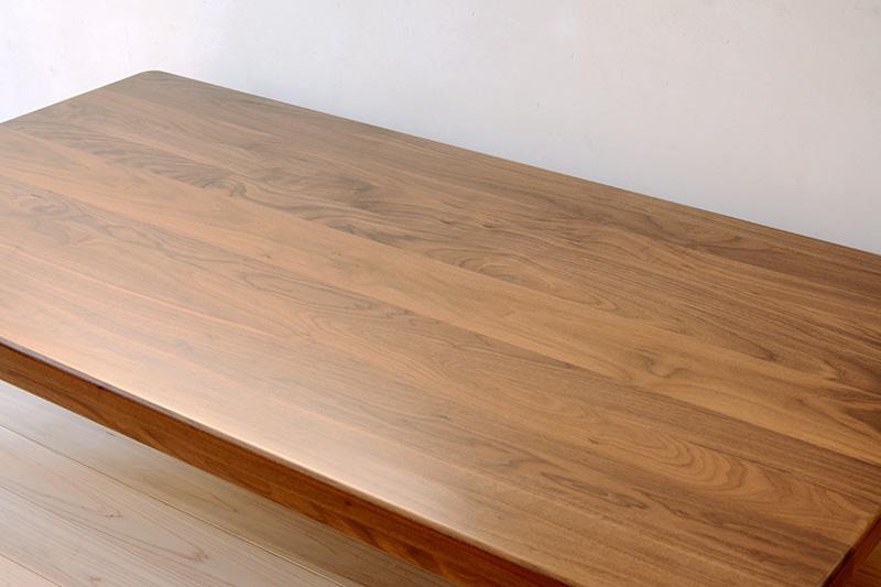 ヒノキクラフト ウォールナットの座卓2